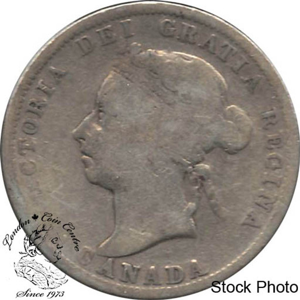 Canada: 1901 25 Cents VG8