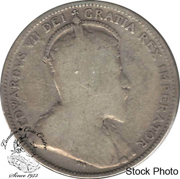 Canada: 1910 25 Cents G4