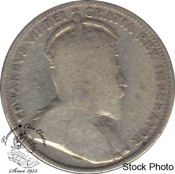 Canada: 1910 25 Cents VG8