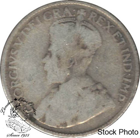 Canada: 1920 25 Cents G4