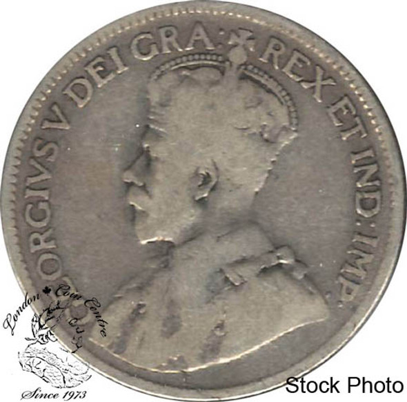 Canada: 1928 25 Cents G4