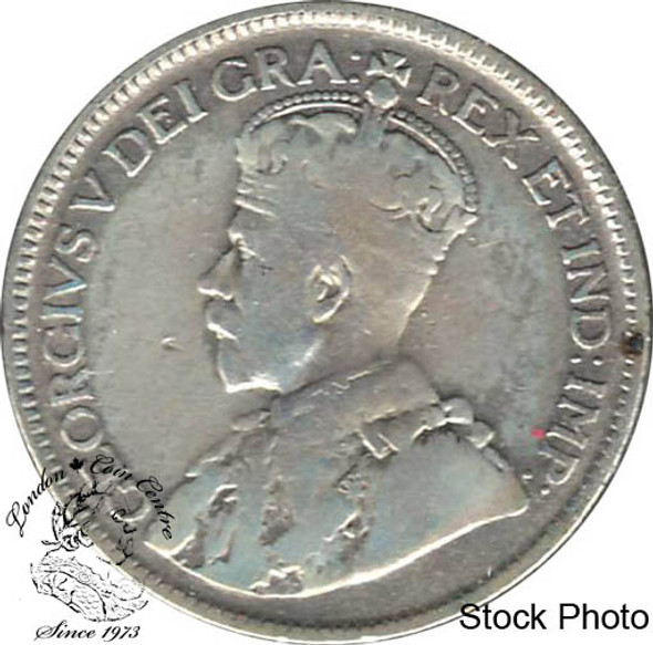 Canada: 1929 25 Cents VG8