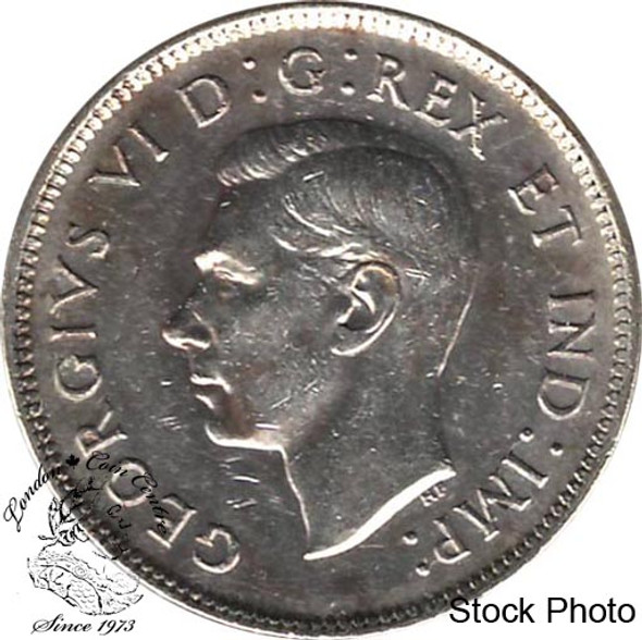 Canada: 1940 25 Cents EF40