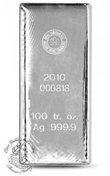 100 Ounce Silver Bars