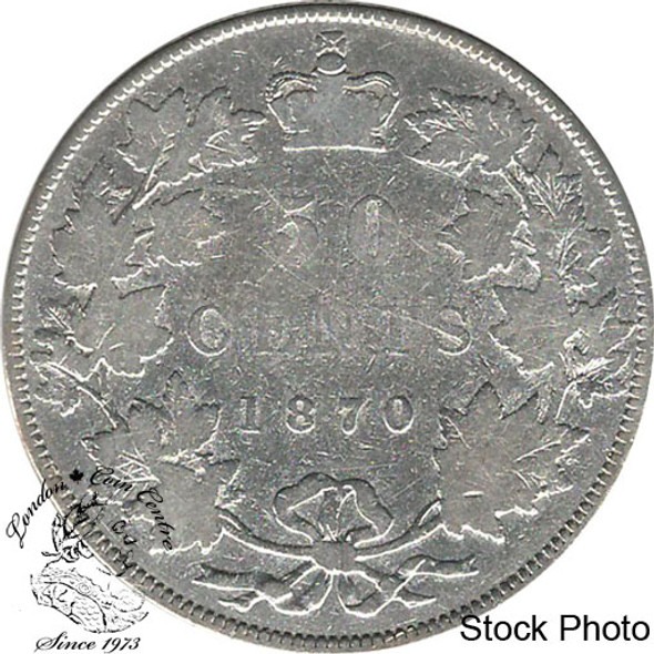 Canada: 1870 50 Cents LCW G4