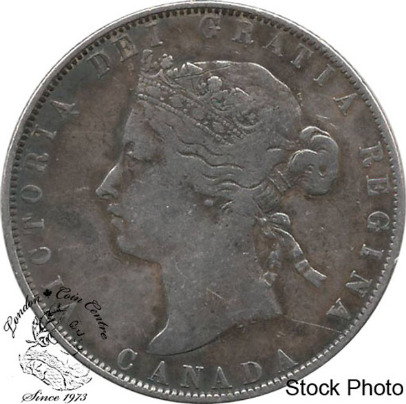 Canada: 1870 50 Cents LCW F12