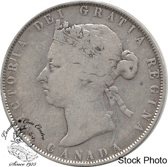 Canada: 1881H 50 Cents VG8