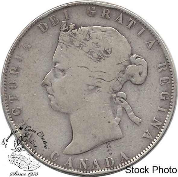 Canada: 1900 50 Cents VG8