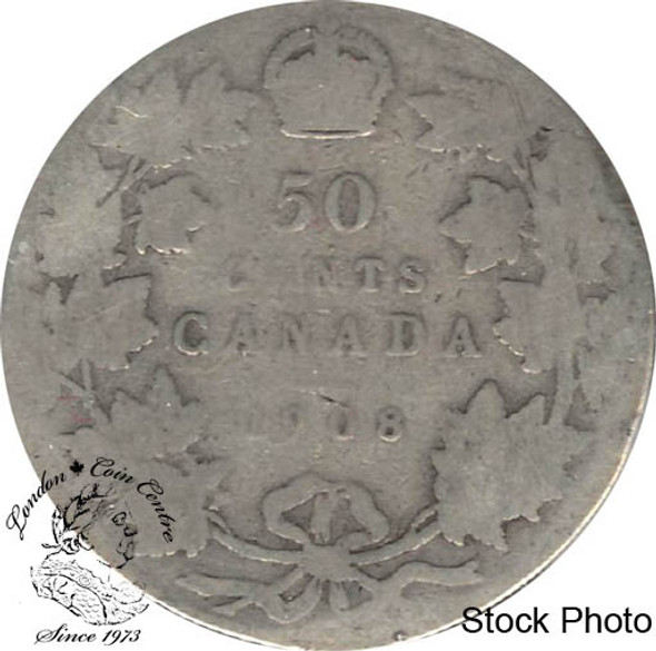 Canada: 1908 50 Cents G4