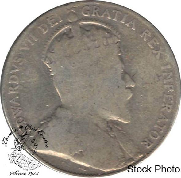 Canada: 1910 50 Cents Ed leafs G4