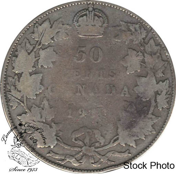 Canada: 1911 50 Cents G4