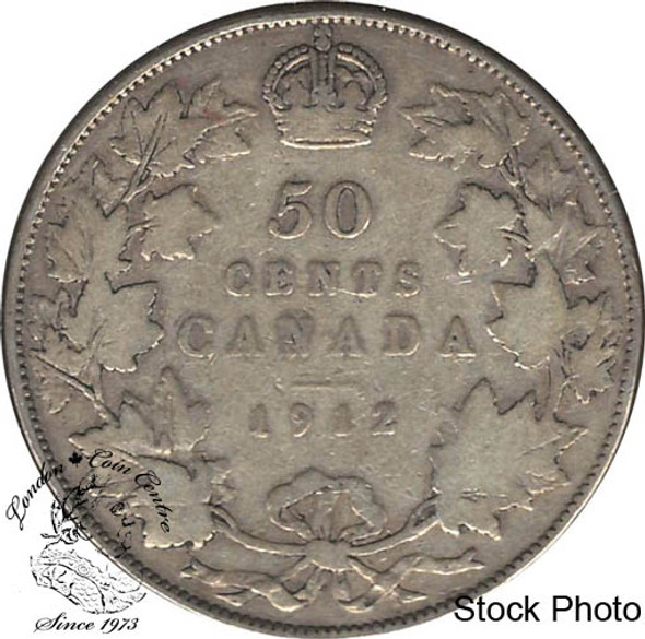 Canada: 1912 50 Cents VG8