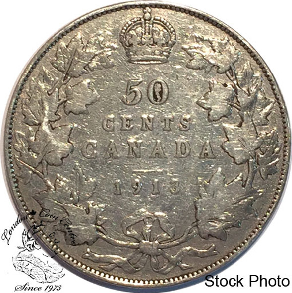 Canada: 1913 50 Cents VG8