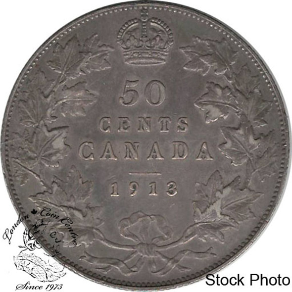 Canada: 1913 50 Cents VF20