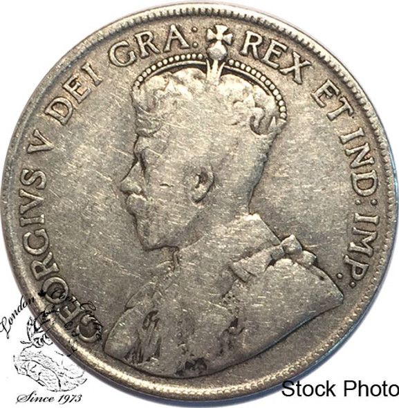 Canada: 1920 50 Cents small 0 VG8