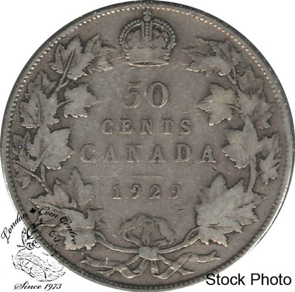 Canada: 1929 50 Cents VG8