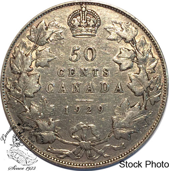 Canada: 1929 50 Cents F12