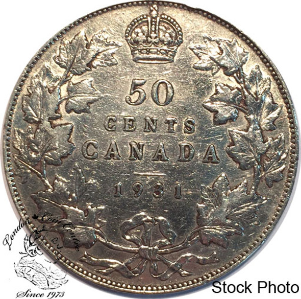 Canada: 1931 50 Cents F12