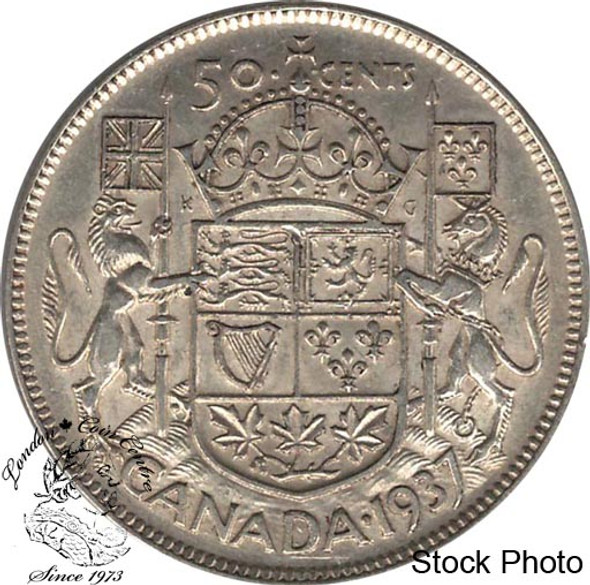 Canada: 1937 50 Cents EF40