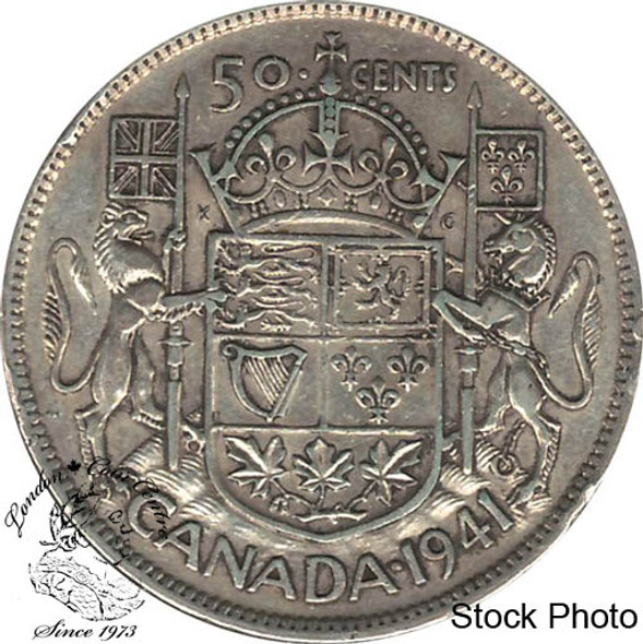 Canada: 1941 50 Cents EF40