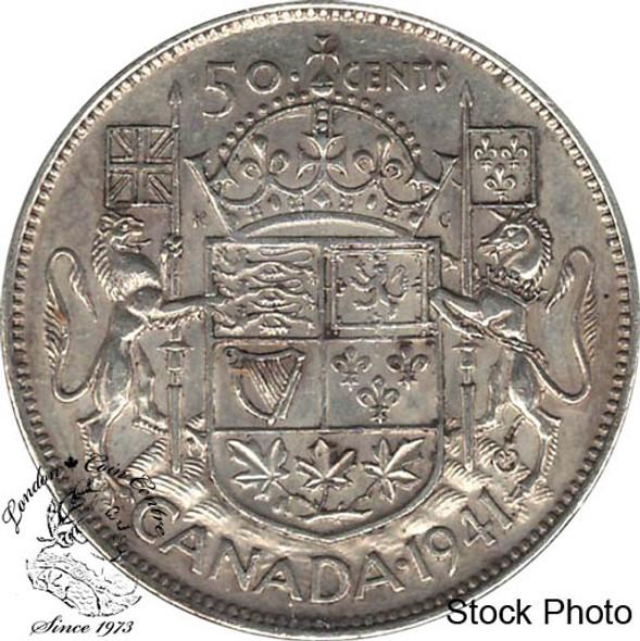 Canada: 1941 50 Cents AU50