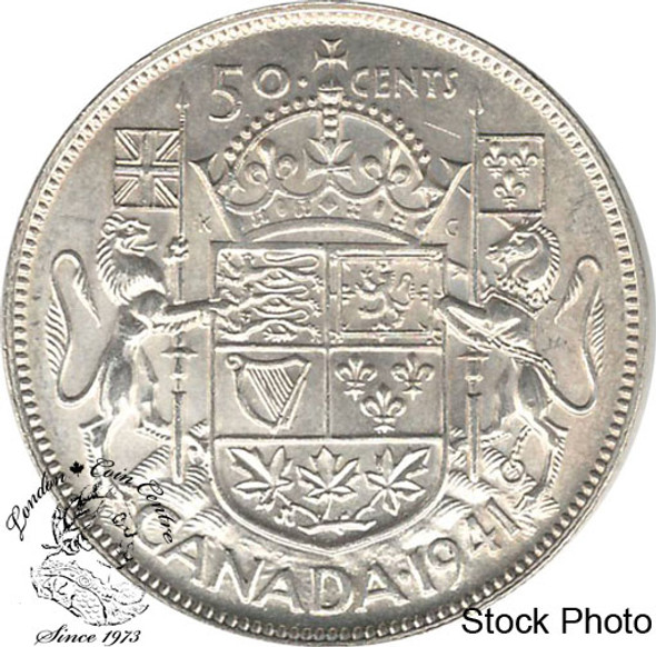 Canada: 1941 50 Cents MS62