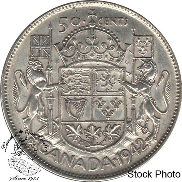 Canada: 1942 50 Cents EF40