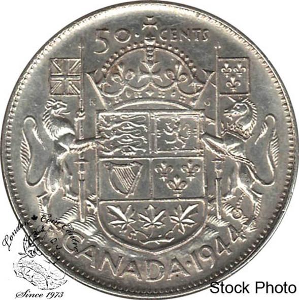 Canada: 1944 50 Cents Far 4 EF40