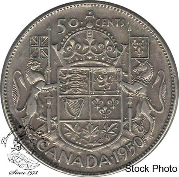 Canada: 1950 50 Cents Des 0 CIRCULATED