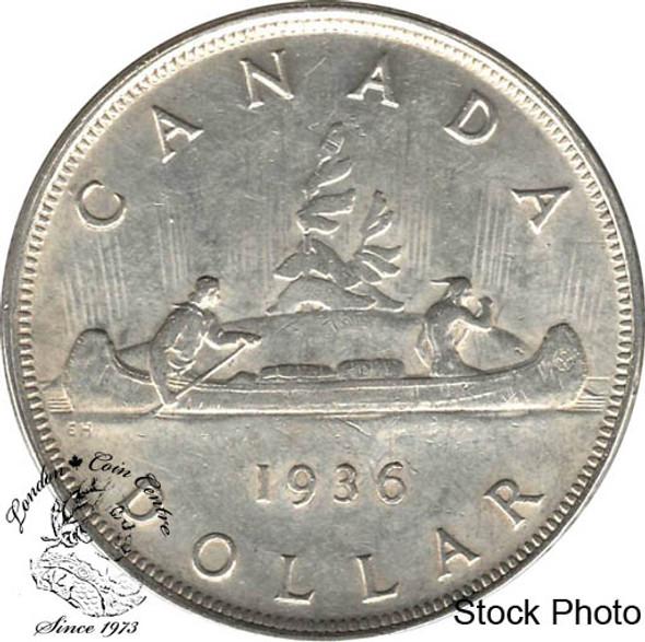 Canada: 1936 $1 EF40