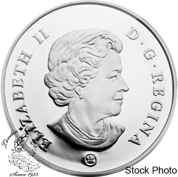Canada: 2009 $15 Vignettes of Royalty - King George VI Sterling Silver Coin