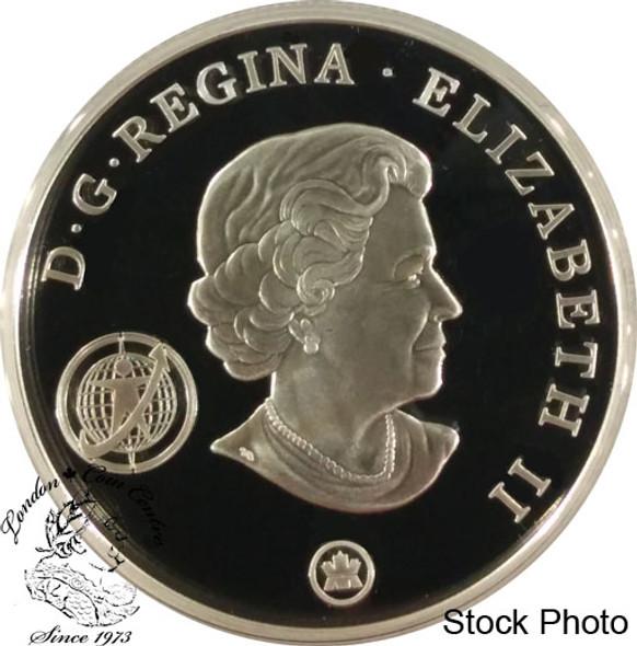 Canada: 2007 $20 International Polar Plasma Sterling Silver Coin