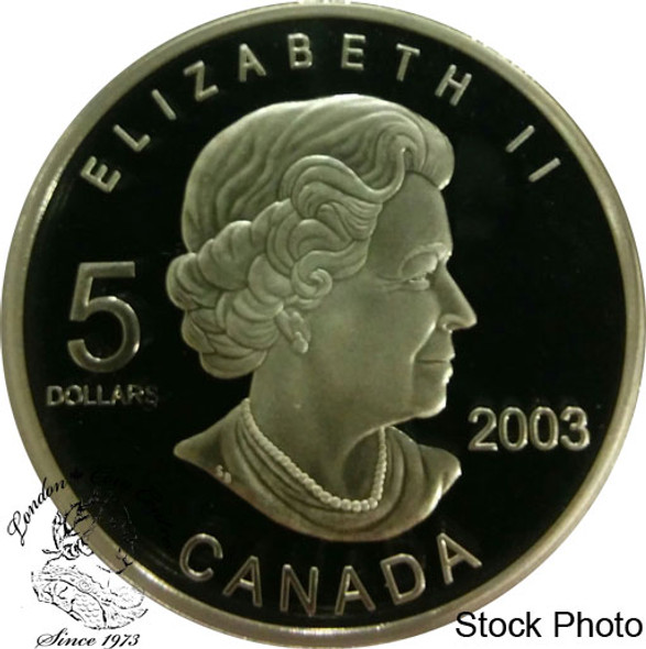 Canada: 2003 $5 FIFA World Cup 2006 Germany Silver Coin