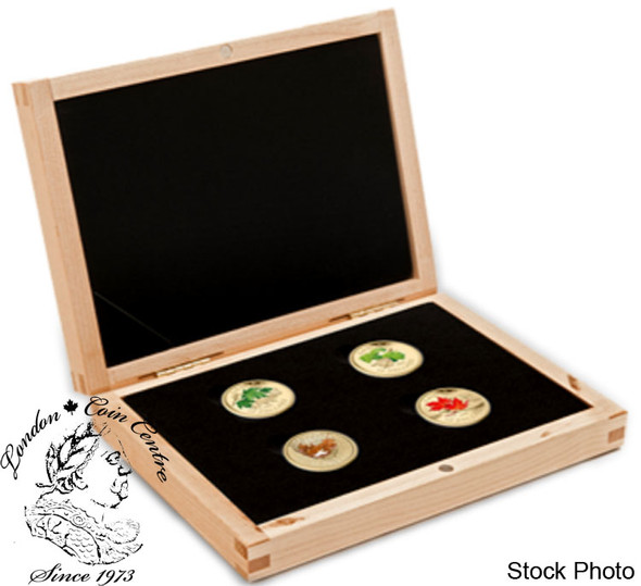 Canada: 2010 $75 Maple Leaf 14-Karat 4 Gold Coin Set