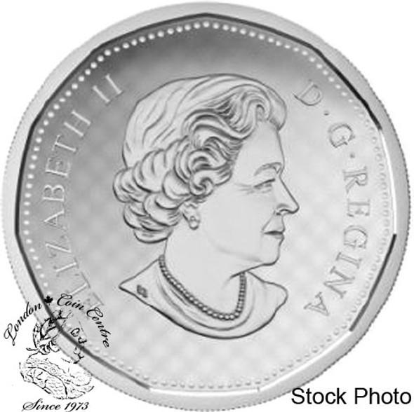 Canada: 2016 $1 Big Coin Series Coloured Dollar Coin