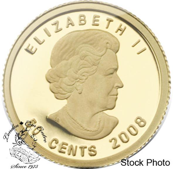 Canada: 2008 50 Cent De Havilland Beaver Gold Coin