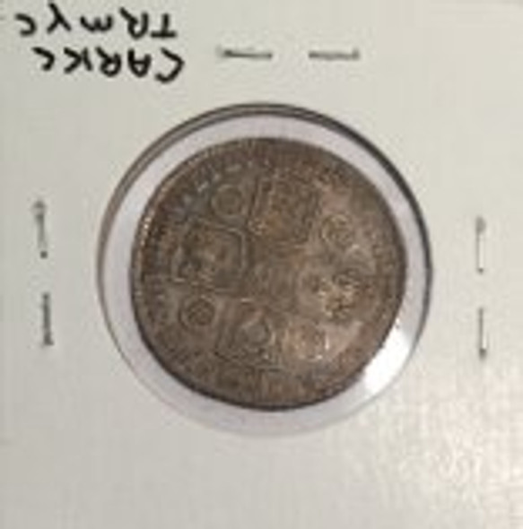 Great Britain: 1743 Shilling George II Old Bust