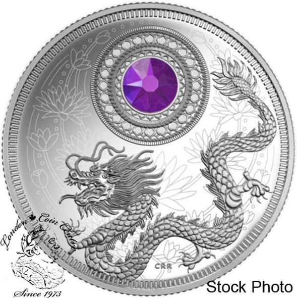 Canada: 2016 $5 Birthstones February Silver Coin