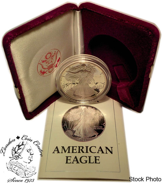 United States: 1987-S 1 Ounce Proof Silver American Eagle