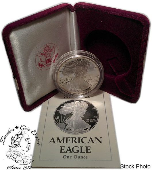 United States: 1989-S 1 Ounce Proof Silver American Eagle