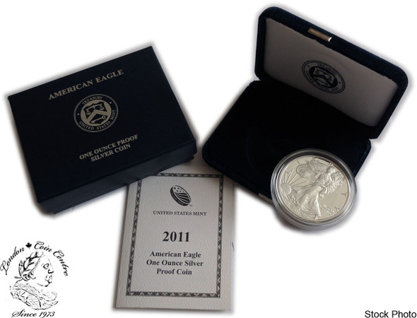 United States: 2011-W 1 Ounce Proof Silver American Eagle