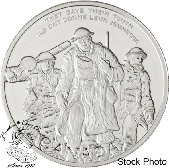 Canada: 2006 $30 National War Memorial Sterling Silver Coin