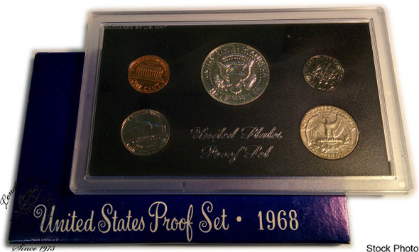United States: 1968 Proof Coin Set