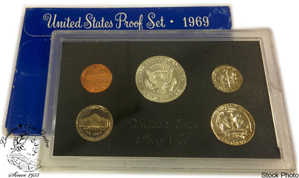 United States: 1969 Proof Coin Set