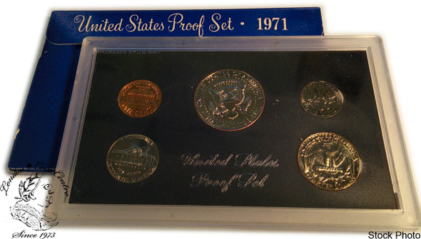 United States: 1971 Proof Coin Set