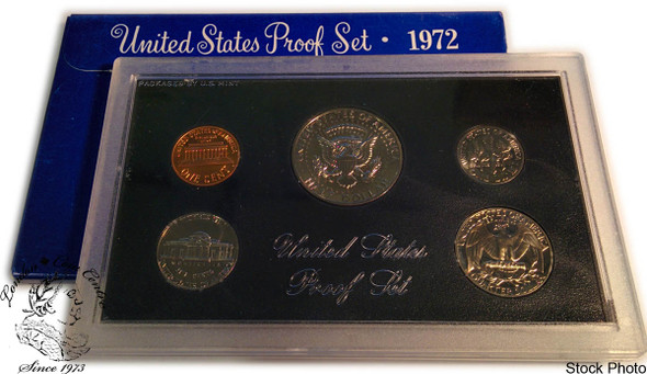 United States: 1972 Proof Coin Set