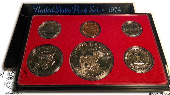 United States: 1974 Proof Coin Set