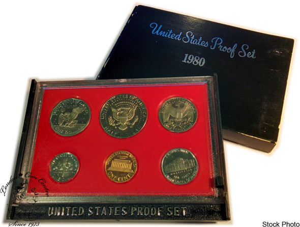 United States: 1980 Proof Coin Set