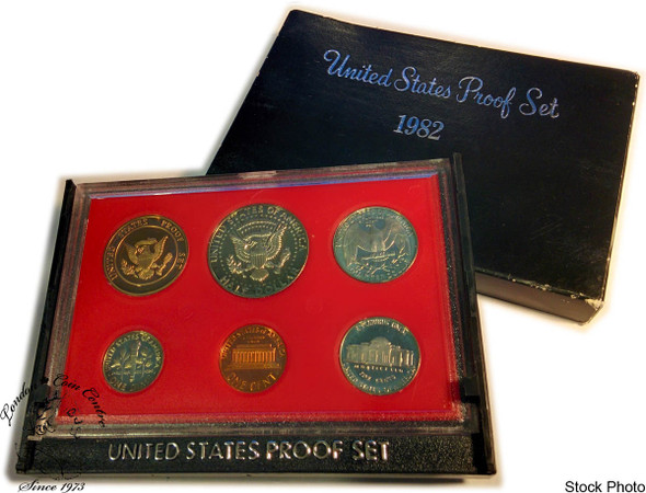 United States: 1982 Proof Coin Set