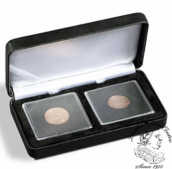 Nobile Coin Box / Clamshell Display for 2 Quadrums